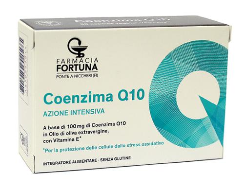 TuaFarmaOnline Coenzima Q10 Azione Intensiva Antiossidante 30 capsule vegetali - La tua farmacia online