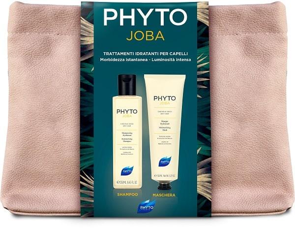Phyto Cofanetto PhytoJoba  Shampoo 250 ml +Phytojojoba Maschera Capelli 150 mlTrattamento Idratante + Trousse  - Farmastar.it