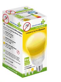 COLPHARMA LAMPADINA LED ANTIZANZARA 8 WATT - Farmamille