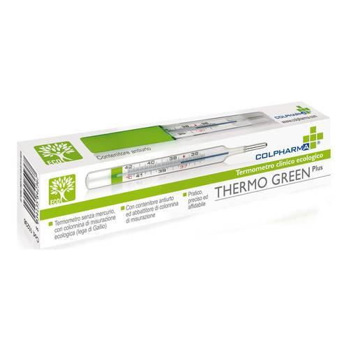 COLPHARMA THERMO GREEN PLUS TERMOMETRO - Farmacento