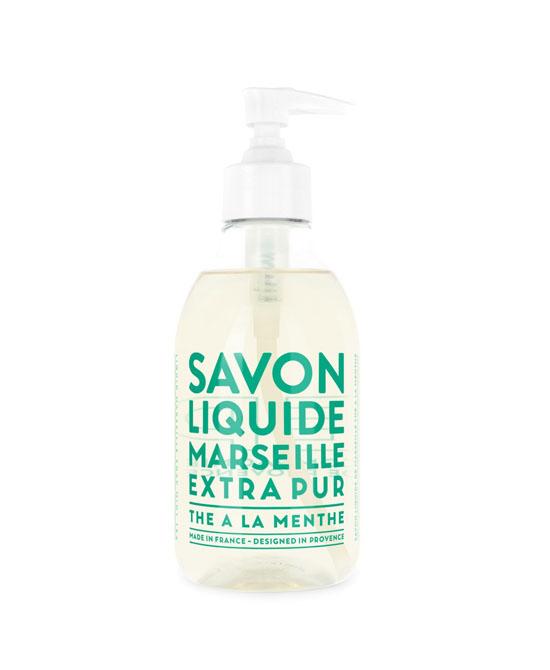 COMPAGNIE DE PROVENCE Sapone Liquido di Marsiglia Thé à la Menthe 500 ml - Farmacento
