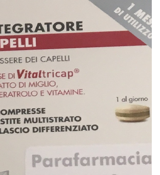ANTICADUTA  INTEGRATORE CAPELLI 30 COMPRESSE - Parafarmaciabenessere.it