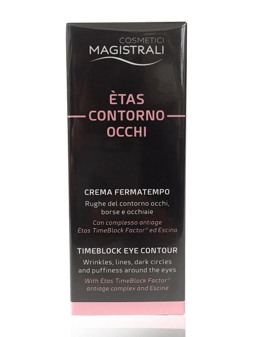Cosmetici Magistrali Etas Crema Contorno Occhi Antirughe Borse Occhiaie 15 ml - Farmastar.it