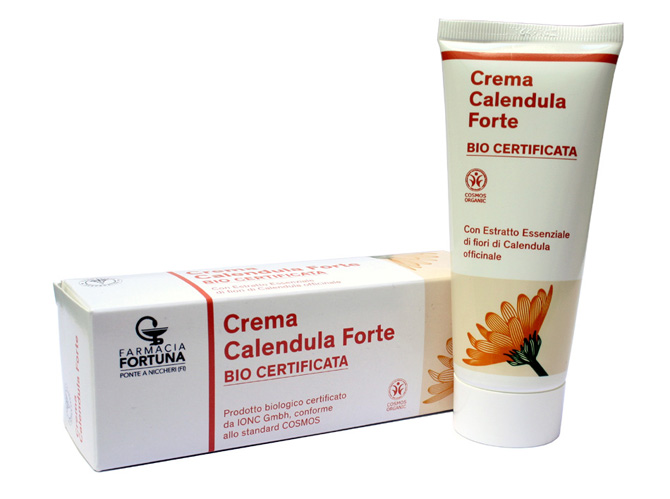 TuaFarmaOnLine Crema Calendula Forte Bio Certificata Lenitiva 100 ml - La tua farmacia online