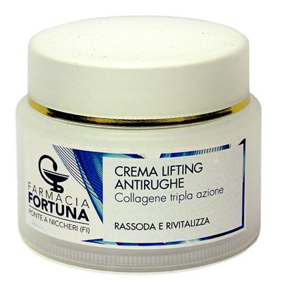TuaFarmaOnline Crema Lifting Antirughe con Collagene Tripla Azione 50 ml - La tua farmacia online