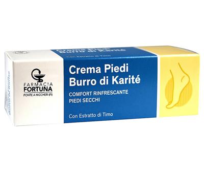 TuaFarmaOnline Crema per Piedi Secchi Burro di Karité Rinfrescante 75ml - La tua farmacia online