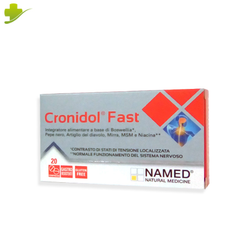 NAMED CRONIDOL FAST 20 COMPRESSE - Farmastar.it