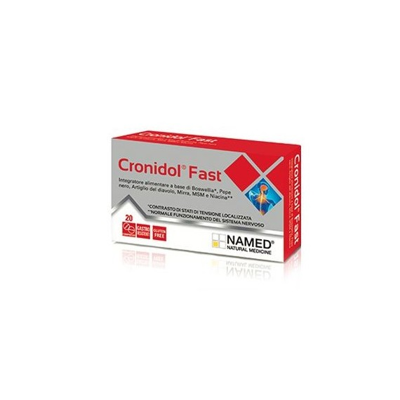 CRONIDOL FAST 20 COMPRESSE - La tua farmacia online