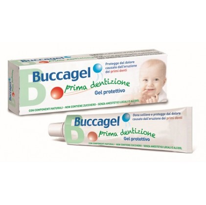 Curaden Buccagel Gel Prima Dentizione 20ml - Farmamille