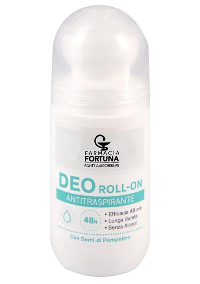 TuafarmaOnline Deo Roll-On Antitraspirante 48 Ore con Semi di Pompelmo 50ml - La tua farmacia online