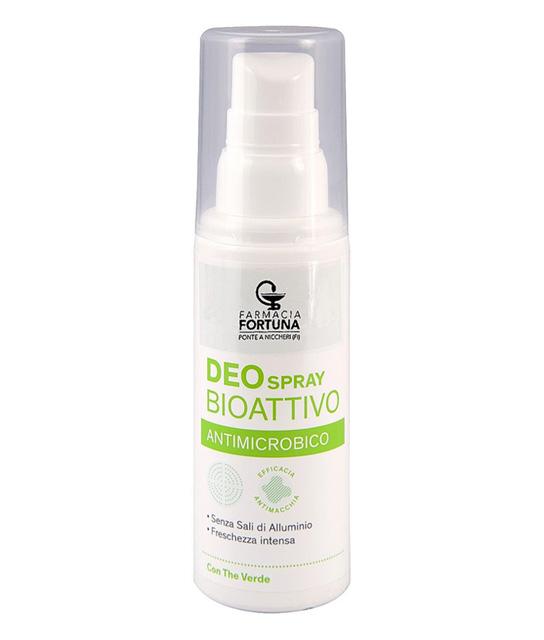 TuaFarmaOnline Deodorante Deo Spray BioAttivo Antimicrobico al The Verde 100ml - La tua farmacia online