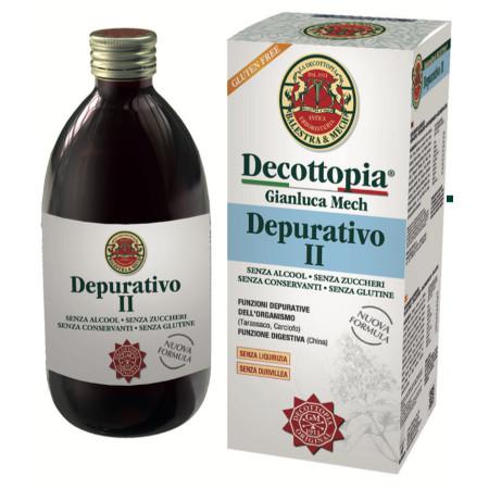 Tisanoreica Decottopia Integratore Alimentare Depurativo II 500ml  - La tua farmacia online