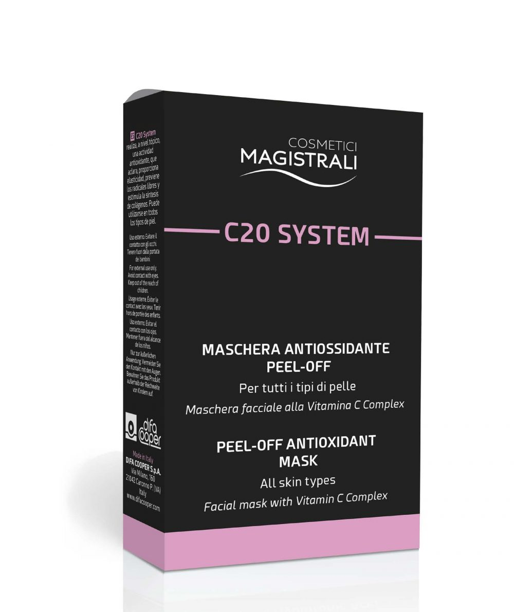 Cosmetici Magistrali C20 System Box Maschera Facciale 5 Bustine - Farmastar.it