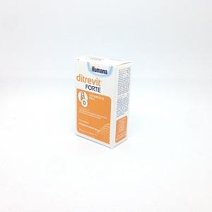 Humana Ditrevit Forte Integratore Alimentare Di Vitamina D E DHA 15ml - Farmacia 33