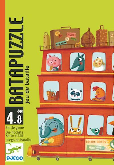 Djeco BataPuzzle - Gioco Di Carte - Farmalilla