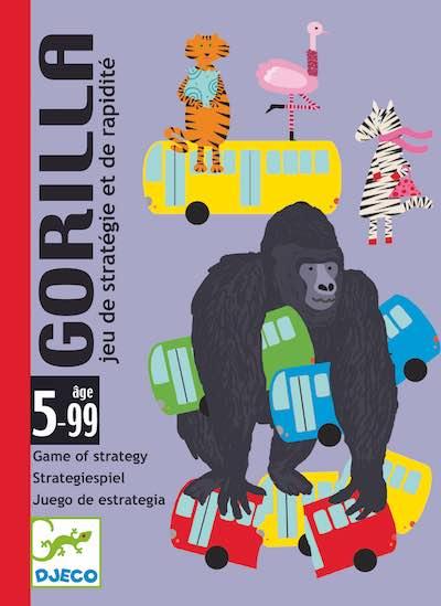 Djeco Gorilla - Gioco Di Carte - Farmalilla