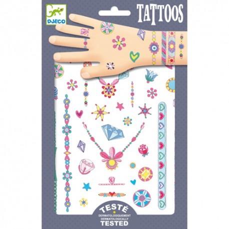 Djeco Tatuaggi Gioielli - Farmalilla