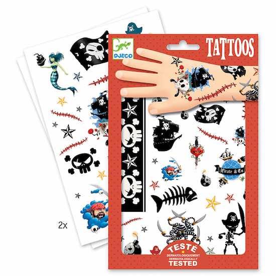 Djeco Tatuaggi Pirati - Farmalilla
