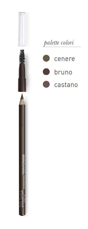 Dolomia Matita Sopracciglia Colore 52 Bruno - La tua farmacia online