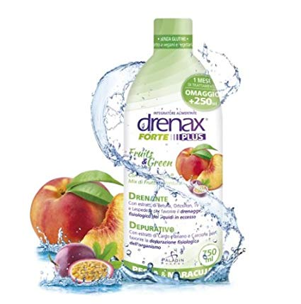 DRENAX FORTE FRUITS & GREEN 750 ML - La tua farmacia online