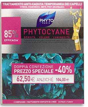 DUO PHYTOCYANE 12+12 FIALE MONOUSO 7,5 ML 2019 - Farmacia 33