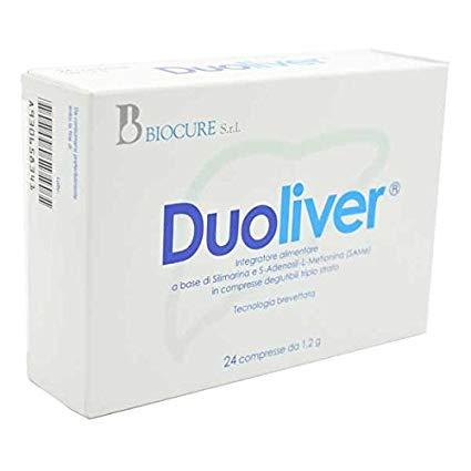 Duoliver 24 compresse - Zfarmacia
