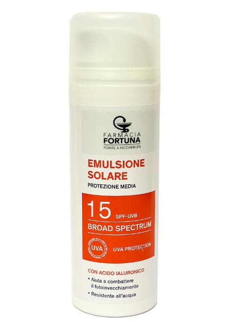 TuaFarmaonLine Emulsione Solare SPF15 Antiossidante Protezione Media 150ml - La tua farmacia online