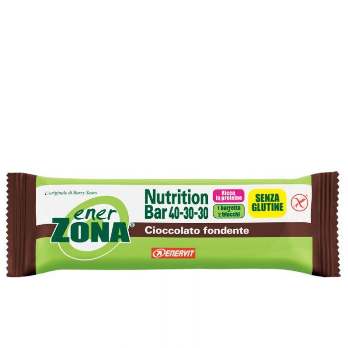 Enervit EnerZona Nutrition Bar 40-30-30 Barretta Cioccolato Fondente 53 grammi sostitutivo pasto - La tua farmacia online