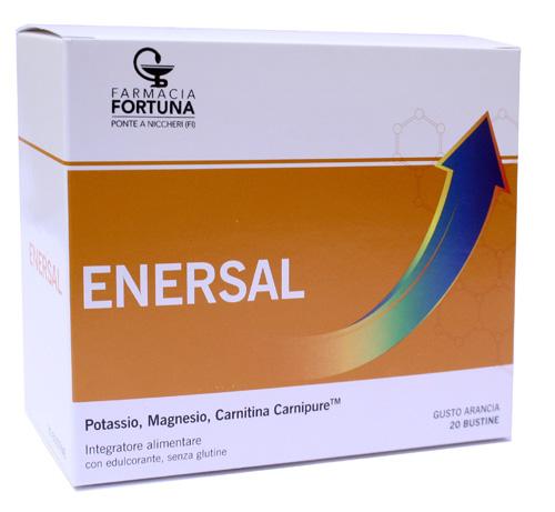 TuaFarmaonLine Enersal Magnesio e Potassio Integratore Alimentare 20 Bustine - La tua farmacia online