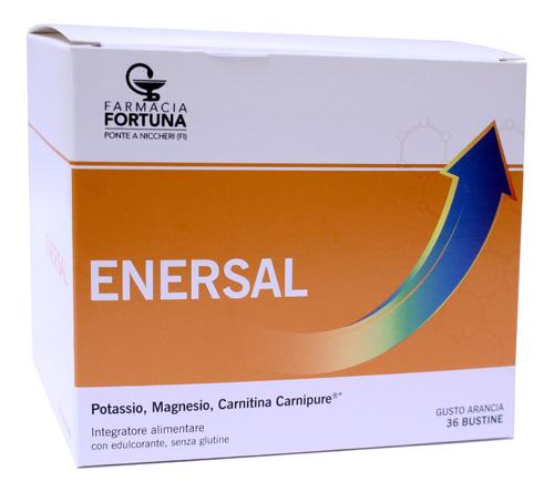 TuaFarmaonLine Enersal Magnesio e Potassio Integratore Alimentare 36 Bustine - La tua farmacia online