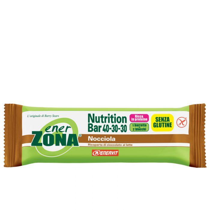 Enervit EnerZona Nutrition Bar 40-30-30 Gusto Nocciola  48 grammi - La tua farmacia online