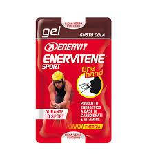 Enervit Enervitene Sport Gel One Hand Gusto Cola  2 bustine da 12,5ml - La tua farmacia online