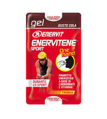 Enervit Enervitene Sport Gel One Hand Con Caffeina Gusto Cola 12,5ml - Farmacia 33