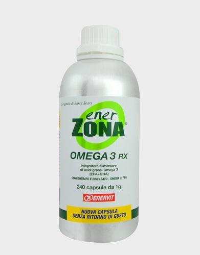 ENERZONA OMEGA 3RX 240 CAPSULE - Zfarmacia