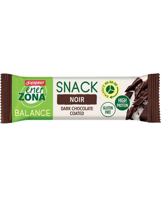 Enervit Enerzona Balance Snack 40-30-30  Noir Barretta Senza Glutine 33 Grammi  - La tua farmacia online