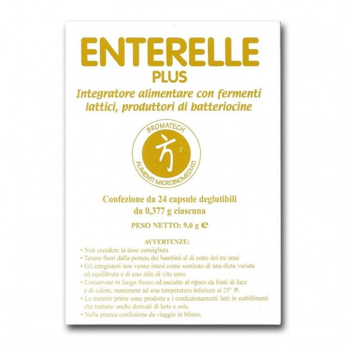 ENTERELLE PLUS 24 CAPSULE - Farmastar.it