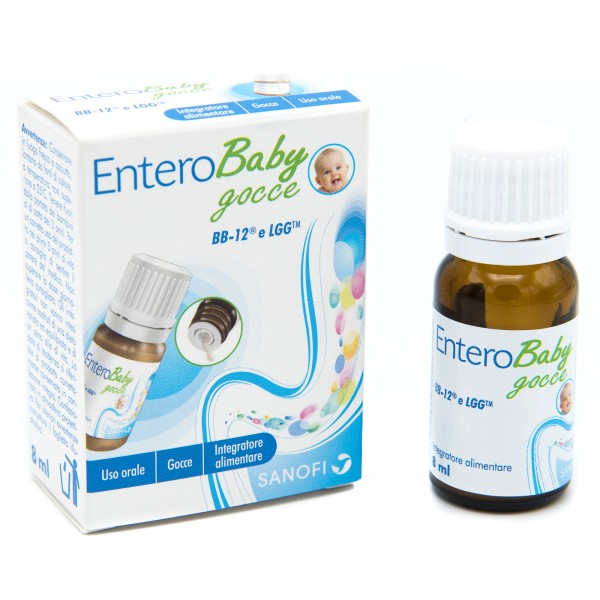ENTEROBABY GOCCE 8 ML - Farmamille