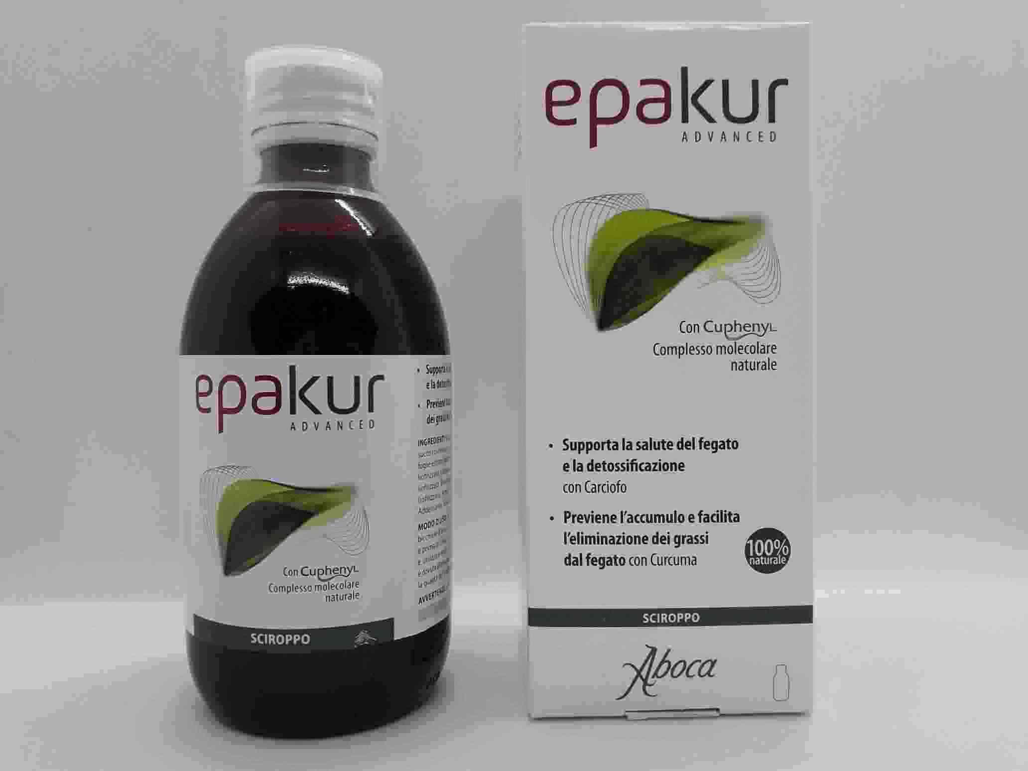 EPAKUR ADVANCED SCIROPPO 320 G - Farmaciaempatica.it