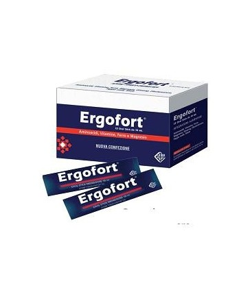 ERGOFORT 12BUST STICK PACK - Zfarmacia