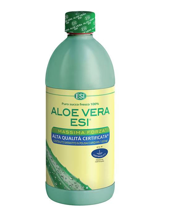 Esi Aloe Vera Succo 1000 ml  1 Litro Massima Forza - La tua farmacia online