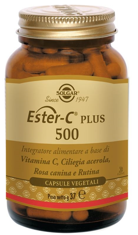 Solgar Ester C Plus 500 50 Capsule Vegetali - Farmacia 33