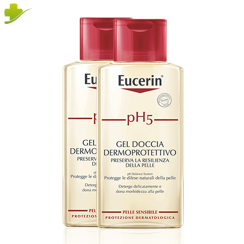 EUCERIN PH5 GEL DOCCIA DERMOPROTETTIVO 2 x 400 ML - Farmastar.it