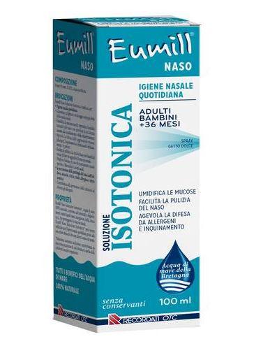 Eumill Naso Spray Soluzione Isotonica 100ml - Farmacia 33