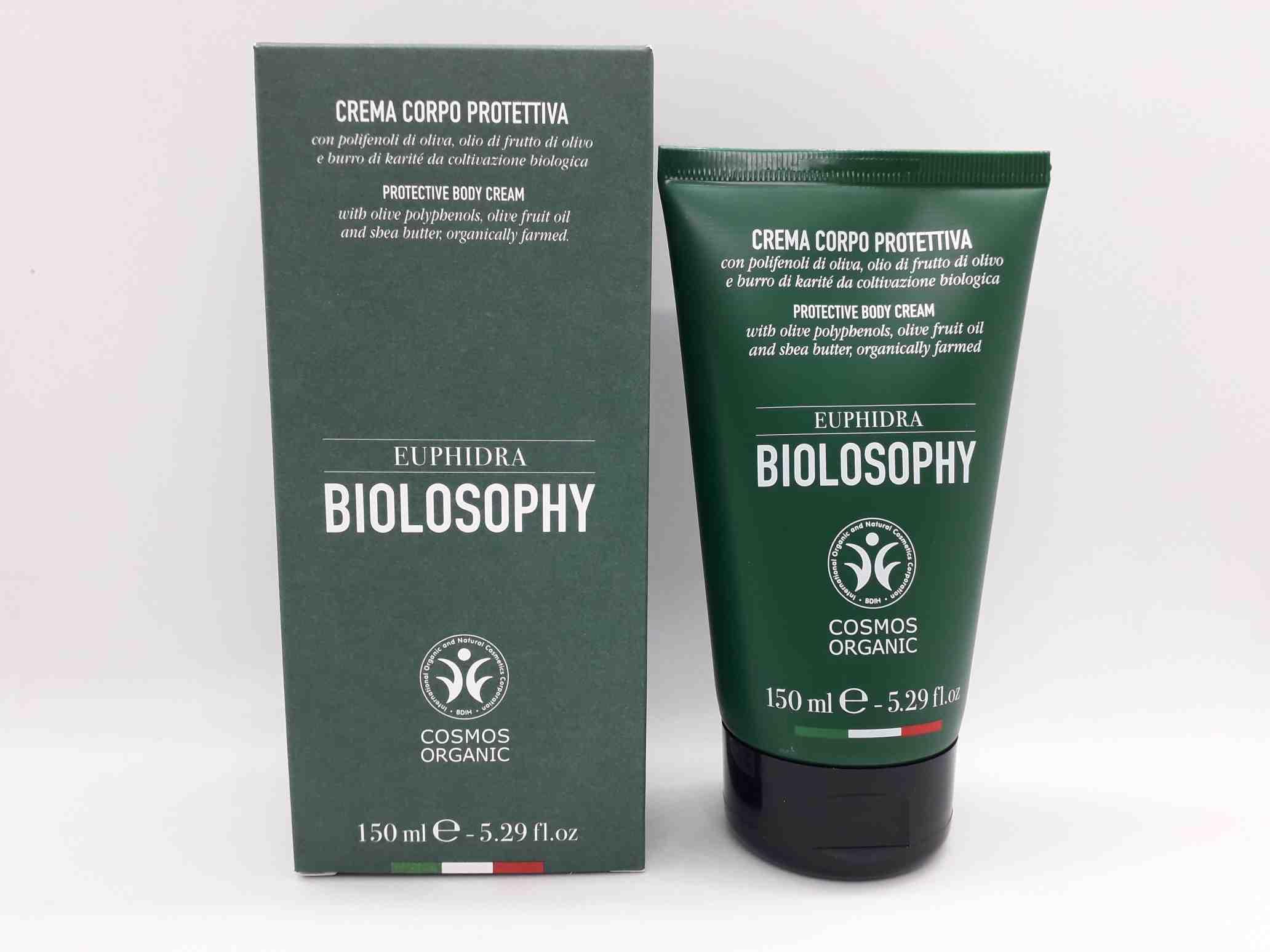 EUPHIDRA BIOLOSOPHY CREMA CORPO PROTETTIVA 150  - Farmaciaempatica.it