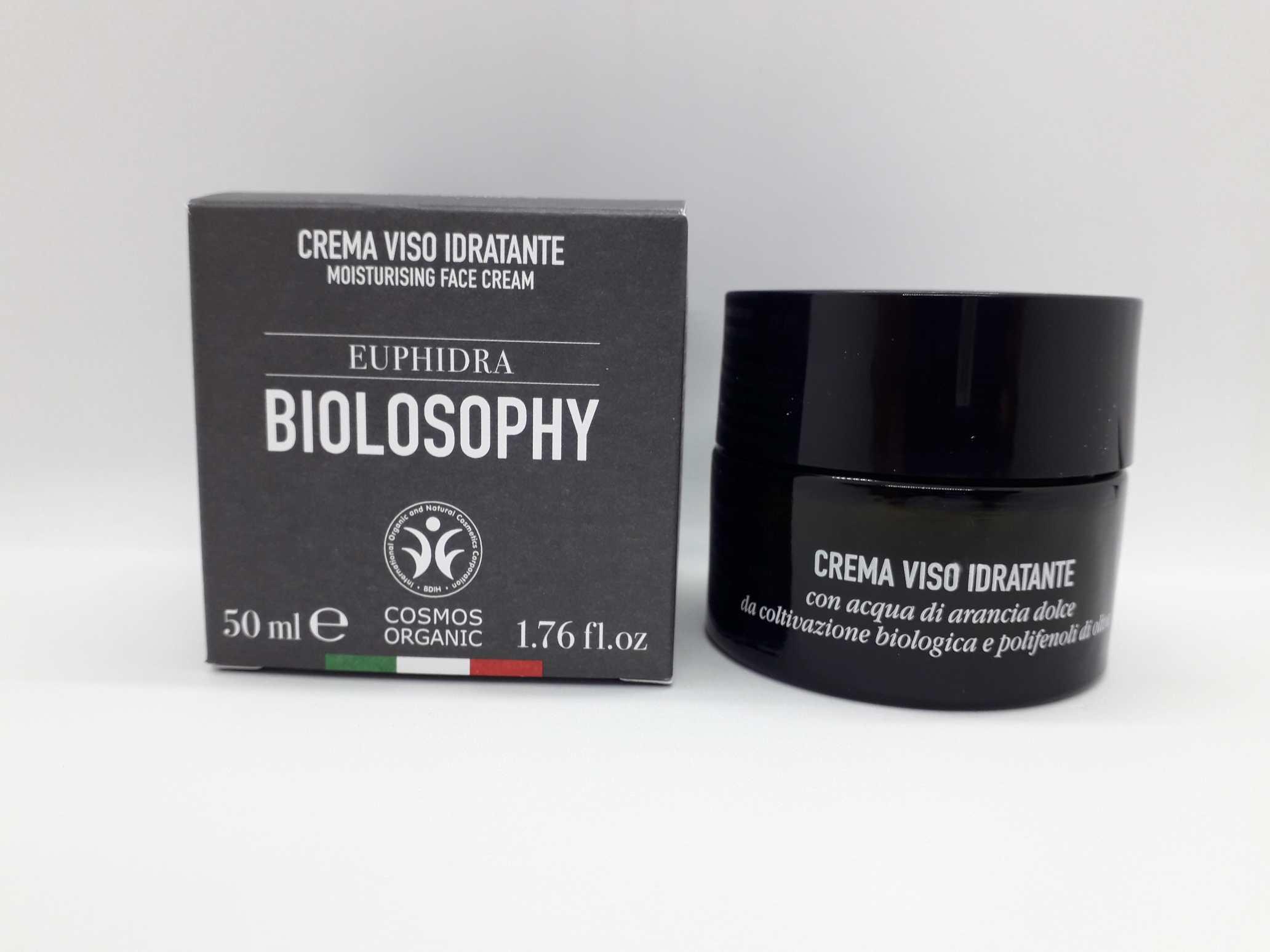 EUPHIDRA BIOLOSOPHY CREMA VISO IDRATANTE 50 ML - Farmaciaempatica.it