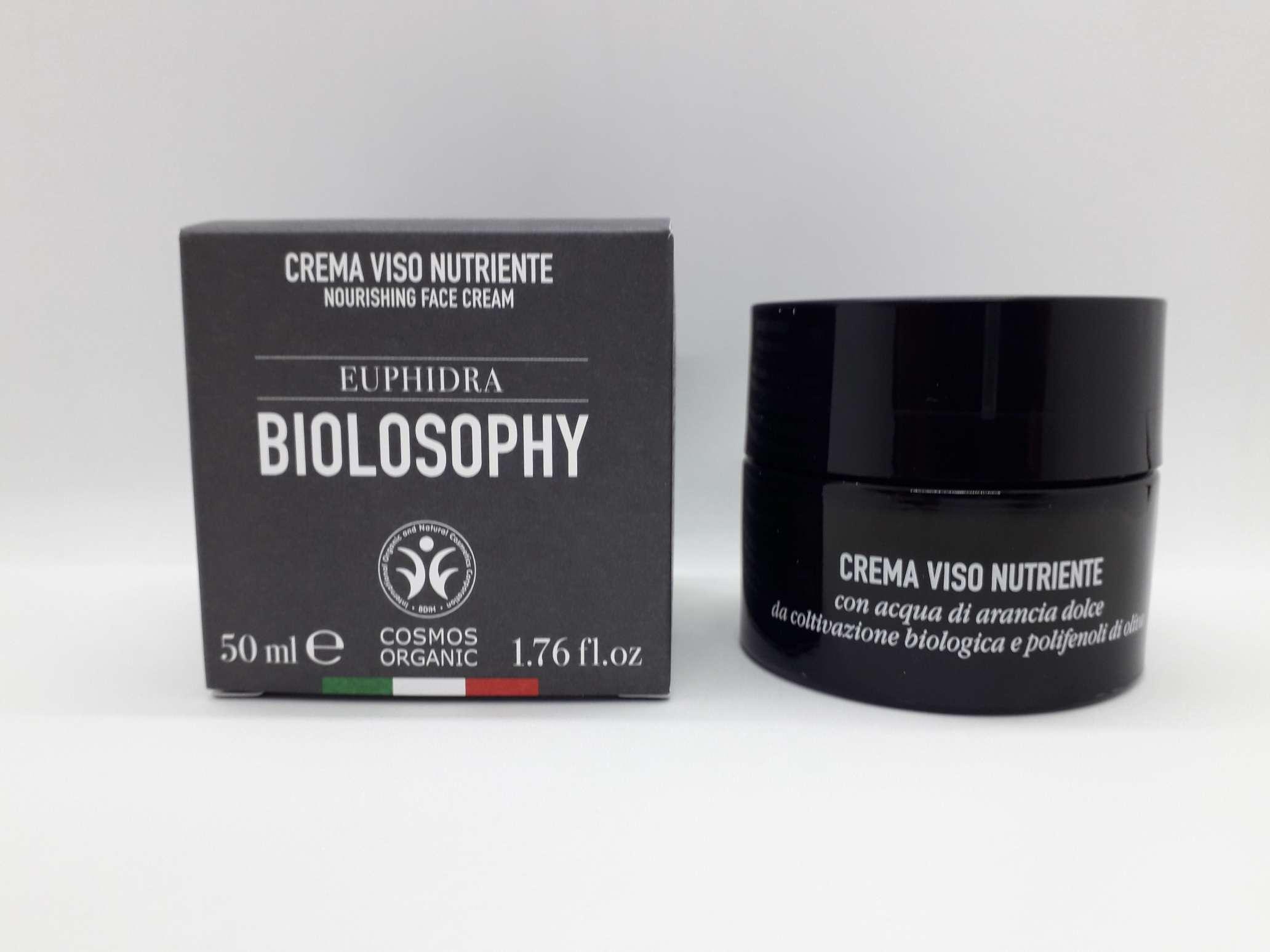 EUPHIDRA BIOLOSOPHY CREMA VISO NUTRIENTE 50 ML - Farmaciaempatica.it