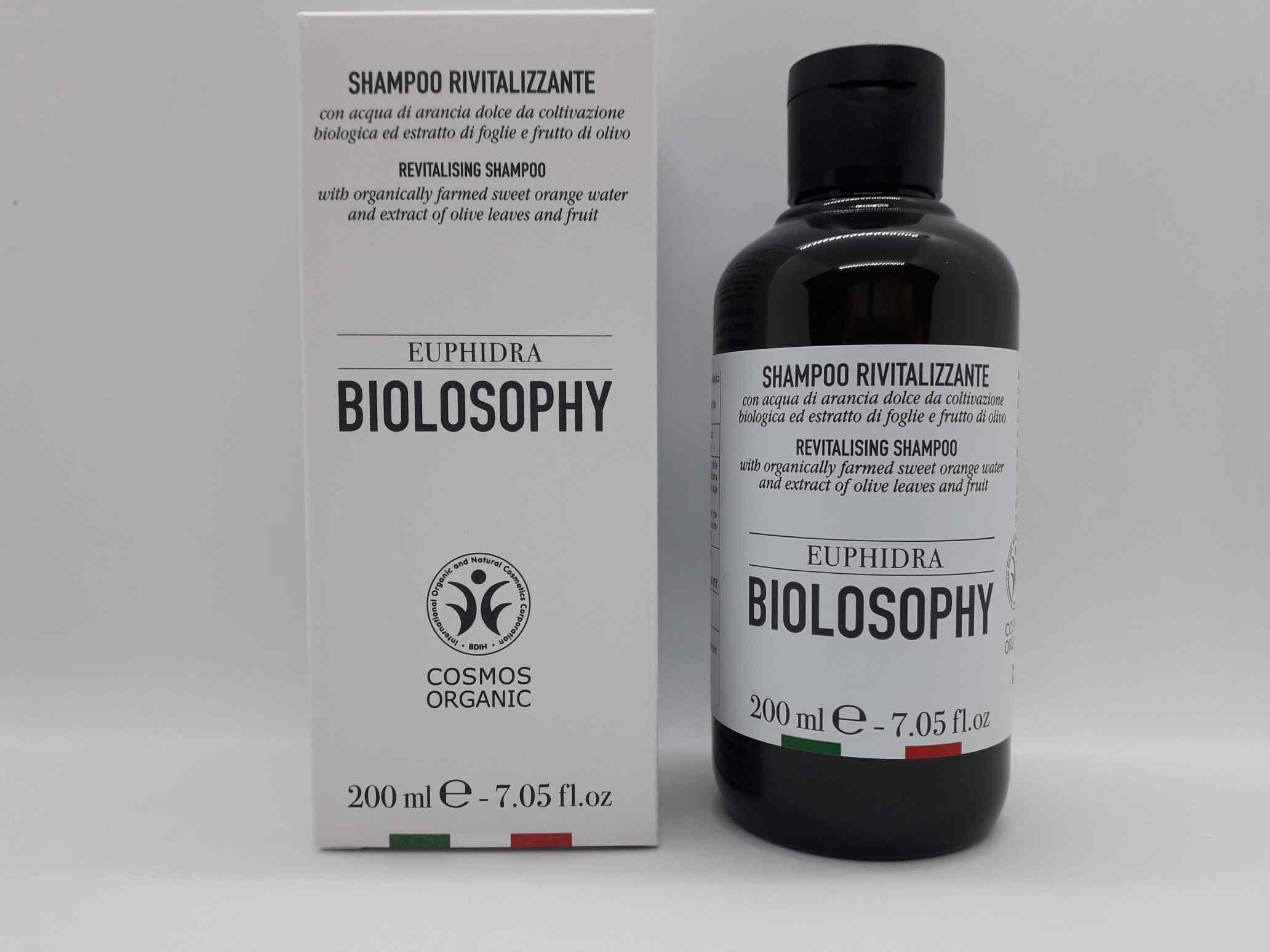 EUPHIDRA BIOLOSOPHY SHAMPOO RIVITALIZZANTE 200 ML - Farmaciaempatica.it