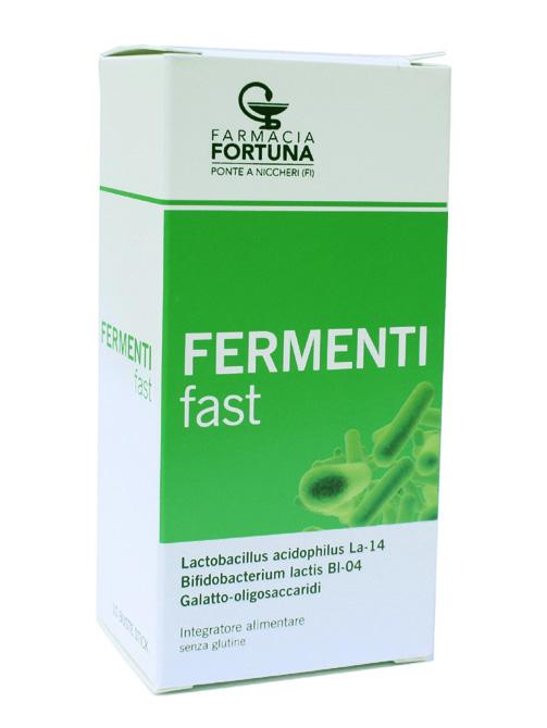TuaFarmaonLine FERMENTIfast Equilibrio Flora Batterica Intestinale 10 Bustine - La tua farmacia online