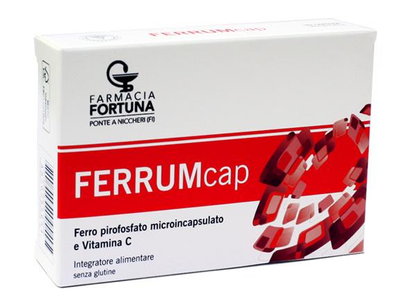 TuaFarmaOnline FerrumCap Integratore Alimentare Ferro Vitamina C 30 capsule - La tua farmacia online