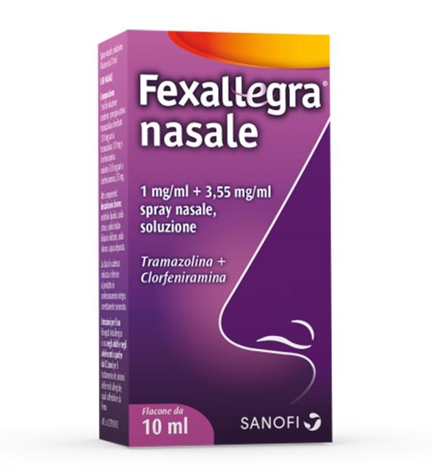 Fexallegra Nasale Spray 1mg/ml Flacone 10 ml - Farmalandia